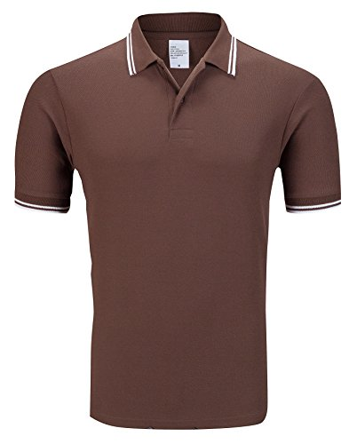 Schonlos Poloshirt Herren kurzarm Men's Polo Shirt regular fit Sommer T- Shirt Casual Party Club