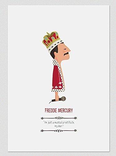 freddie-mercury-stampe-a4