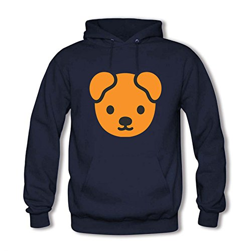 LizzieYun Herren Sweatshirt Hoodie Bear Silhouette Printed Hoodie Hoody mit Kapuze Jacke 3XL (Bionic Hoodie Apex Jacke)