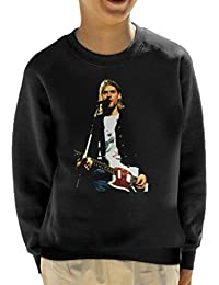 Alamy Kurt Cobain Nirvana Live Kids Sweatshirt
