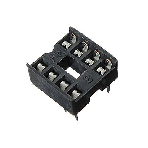 10pcs 8 Pin DIP IC Buchse Adapter Solder Typ Sockel Dual Wipe Kontakt Dip-solder
