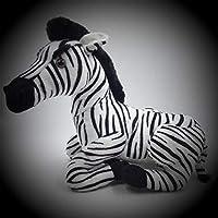 TKAISGFJQ Seated Zebra Plush Toys Toys Cute Animal Plush Dolls For Kids Girls Gifts