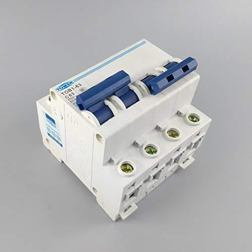 Leistungsschalter 2P 63A Mts Dual-Power-Schalter Für Manuelle Umschaltung Leistungsschalter Mcb 50Hz / 60Hz 400 ~ -