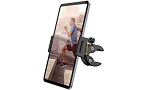 "Lamicall Soporte Tablet para Cinta de Correr Bicicleta - Universal Soporte Ajustable para 4.7""~13"" Tablets para 2020 iPad Pro 9.7, 10.5, 12.9, iPad Air 2 3 4, iPad Mini 2 3 4, iPhone, Otras Tablets"