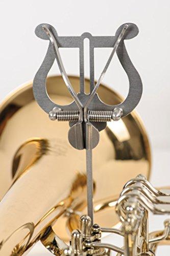 Lyra G580 für Trompete bis Tuba, Marschgabel, Marschbuchhalter, Notenhalter aus Edelstahl