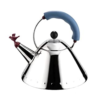 Alessi Blue Bird Whistle Hob Kettle