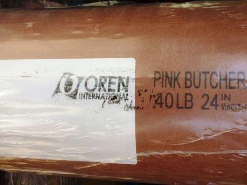 Royal Spie Butcher Paper, 20m Kraftpapier BBQ Papier, Pink Butcher