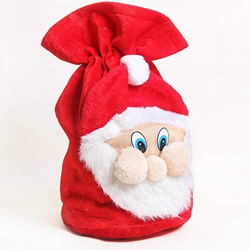 MANSEN Weihnachten Dekoration der großen Sack Strumpf großes Geschenk - Taschen Gold samt