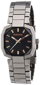 Diesel Damen-Armbanduhr Analog Quarz Edelstahl beschichtet DZ5291