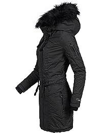 Khujo Damen Winter Mantel Baumwoll Parka YM-Anastina 5 Farben XS-XXL