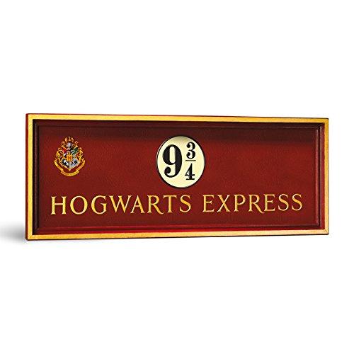 Harry Potter Gleis 9 3/4 Hogwarts Express Wandbild 56 x 20 cm
