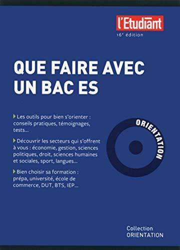 Que faire avec un BAC ES 16e édition par Bruno Magliulo