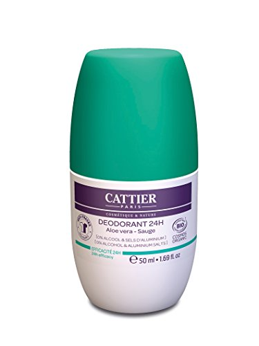 Cattier-Paris Deodorant 24 h Roll-on, 50 ml
