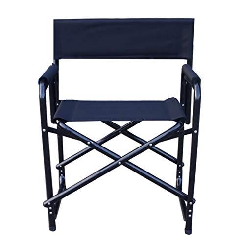 DCCYZ-YJ Chaise de pêche en Plein air en Tissu de Toile de Chaise de Directeur de Cadre en Aluminium imperméable et Respirant (Couleur : A)
