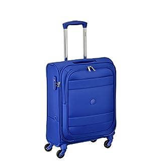 DELSEY PARIS INDISCRETE Equipaje de mano, 55 cm, 39 liters, Azul (Bleu Clair)