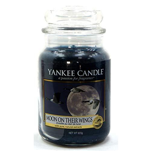Official Yankee Candle Luna della Loro Ali Tradizionale Classico Signature Fresh Barattolo Grande 623g–Sicuro per Corrispondenza Box