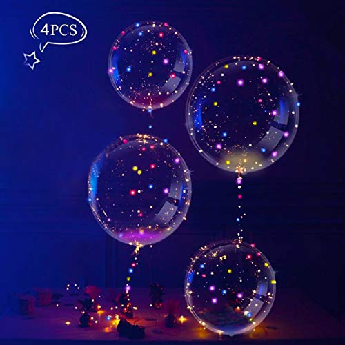 Globos Luces Globos Látex LED Multicolores