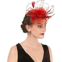 Lucky Leaf Muchacha de las mujeres tocado pinza de pelo horquilla sombrero  de la boda cóctel ec1aff1df4e