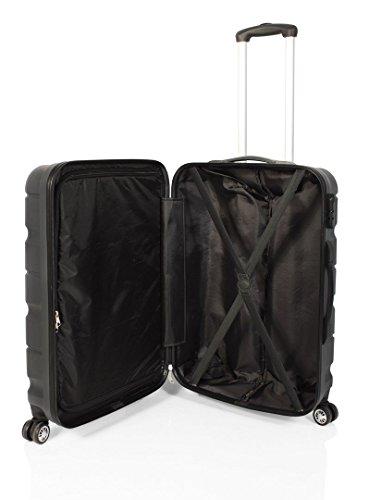41Zo9FK29yL - Double2 maleta JohnTravel 70 cm, cuatro ruedas dobles, ABS