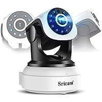 Sricam - Cámara IP de vigilancia y seguridad, WiFi inalámbrico, 720P, HD,