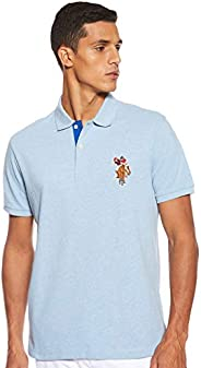 U.S. POLO ASSN. Men's Slim Fit Cotton Pique Polo S