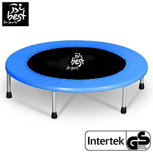 Best for Sports Trampolin mit TÜV Intertek und GS Zertifikat 96 cm Indoortrampoline bis 120 kg BB