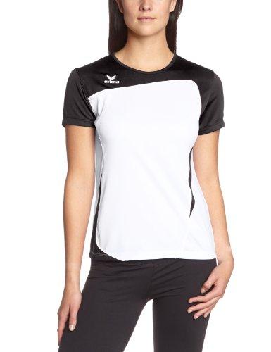 erima Damen T-Shirt Club 1900, weiß/schwarz, 40, 108340