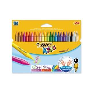Producto BIC Kids Plastidecor Crayons Color Duro Larga duración sharpenable Vivid Surtido Ref. 829772[Unidades 24]