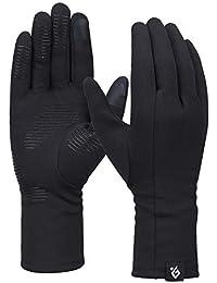 Bequemer Laden Damen Winter Warme Touchscreen Handschuhe Winddichte Leichte Rutschfeste Handschuhe