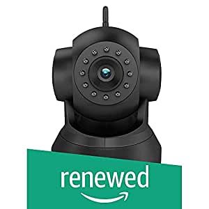 (Renewed) D3D D8801 HD 720P WiFi Home Security Camera 360 PTZ (Black)