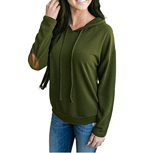 iHENGH Top Damen,Women Herbst Frauen Sweatshirt Hoodies Massives -
