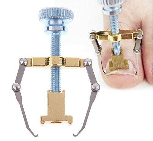 Portal Cool Hot Pro Ingrown Toe Corrección de uñas Manicura Clipper Fijador de pedicura Recuperar Pie Cuidado de uñas Uñas Ortopedia Corrector de juanetes