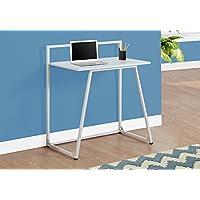 Preisvergleich für Monarch Metall Computer Schreibtisch, holz, weiß, 76,2 cm (30 zoll)