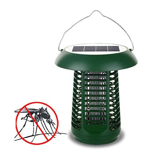 Preisvergleich Produktbild SuRose Solar Insect Killer Lamp,  Moskito-Mörder,  Dual-Modi wasserdichte Solar-Moskito-Lampe,  Bug Zapper,  Fliegen,  hängen oder im Boden für Garten,  Terrasse,  Rasen