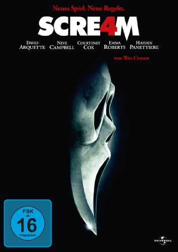 Scream 4 (Halloween Dvds)