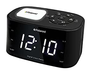 Polaroid POLAREV31BT Radio réveil Bluetooth Noir