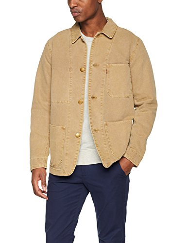 Levi's Herren Jacke Engineers Coat 2.0 Gold (Harvest Gold (Lq-P708TRGT 0003)