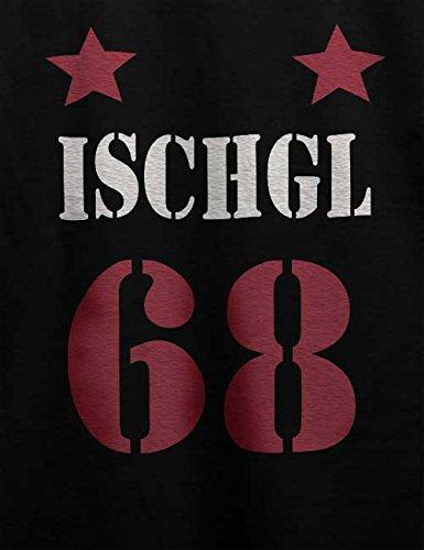 Ischgl Trikot 68 T-Shirt Schwarz