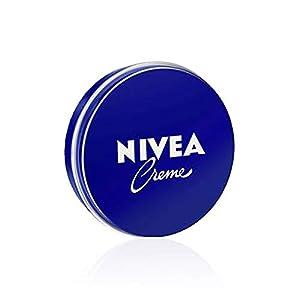 NIVEA Creme (1 x 30 ml), crema hidratante corporal y facial para toda la familia, crema universal para una piel suave e hidratada, crema multiusos