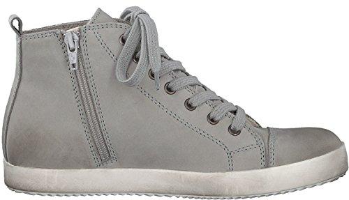 Tamaris Schuhe 1-1-26844-37 bequeme Damen Stiefel, Boots, Stiefeletten, für modebewusste Frau, Stone