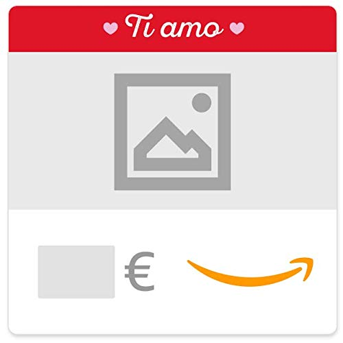 Buono Regalo Amazon.it - Digitale - Personalizzato - Ti amo (cuori)