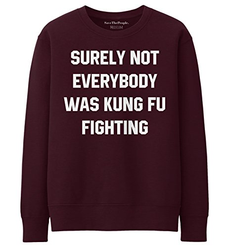 SaveThePeople - Sweat-shirt - Femme XL Bordeaux