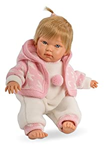Llorens 30002-Vino Extremo muñeca Baby cucá, 30cm