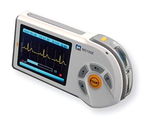 ECG/elettrocardiografo Portátil manual–pantalla LCD A Color–apagado Automático–2modalidades de medidas