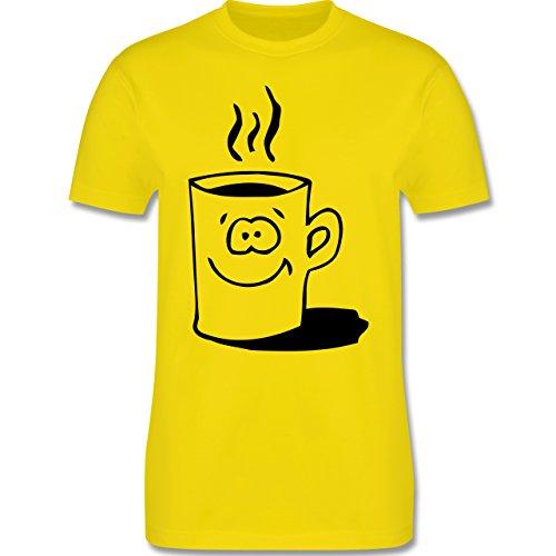 Küche - Tasse - Herren Premium T-Shirt Lemon Gelb