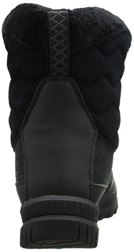 Timberland Women's Woodhaven Mid WP Insulated Winter Boot, Black, 11 M US Black