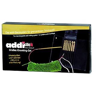 ADDI 243-7 Click Großes Knooking-Hook-Set