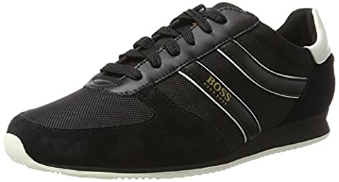 BOSS Orange Orland_runn_ny 10198912 01, Men's Low-Top Sneakers, Black, 8