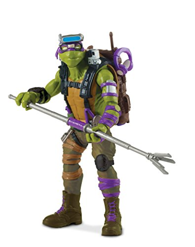 "Image of Teenage Mutant Ninja Turtles ""Donnie"" Movie 2 Action Figure"