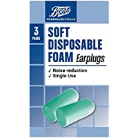 Boots Pharmaceuticals Soft Disposable Foam Earplugs - 3 Pairs with Carry Case preisvergleich bei billige-tabletten.eu
